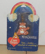 1984 American Greetings CARE BEARS Friendship Bear Attachable Vintage 80... - $14.03