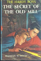 HARDY BOYS Secret of the Old Mill by Franklin W Dixon (1962) G&D HC - $12.86