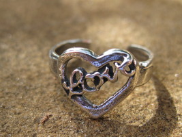 Haunted Be desired toe ring 925 sterling silver attraction spells triple... - $25.00