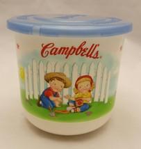 Campbells 2002 16oz Soup Bowl Microwave Mug Lid... - $14.01