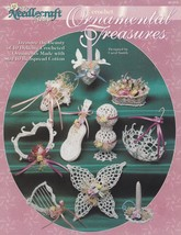 Ornamental Treasures, Crochet Pattern Booklet TNS 921313 Butterfly Heart... - $4.95