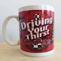 Nascar Coca Cola Driving Your Thirst for Racing coffee mug cup collectible - $9.99
