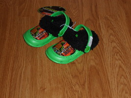 NICKELODEON TEENAGE MUTANT NINJA TURTLES SANDALS SHOES SIZE S (5/6) NWT  - $9.99