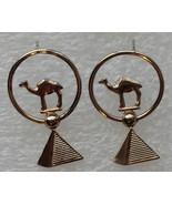 Jewelry earrings camel 2 thumbtall