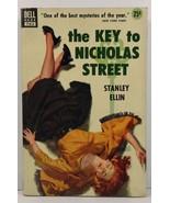 The Key to Nicholas Street Stanley Ellin  1952 Dell Book 763 - $4.99