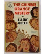 The Chinese Orange Mystery Ellery Queen 1950 Pocket Book 17 - $2.99