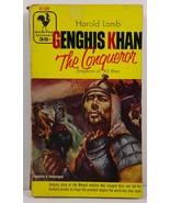 Genghis Khan by Harold Lamb 1955 Bantam Books A1382 - $3.99
