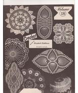 Elizabeth Hiddleson Crochet Book 18 Doilies Tab... - $8.49