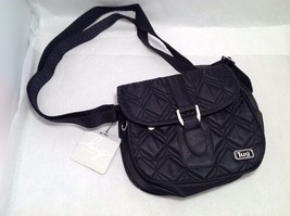 New With Tags NWT Lug Signature Swing Shoulder Bag Pocketbook Midnight