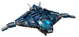 LEGO Marvel Super Heroes Avengers Quinjet Only Split from 76051 Airport ... - $21.19