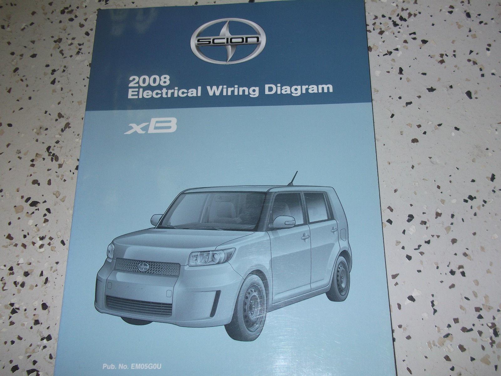 2008 toyota scion xb xb electrical wiring and 50 similar items rh bonanza com Toyota Tis Website Vehicle Repair Manuals