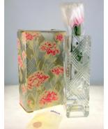 Vintage Fostoria Avon crystal square bud vase w... - $12.00