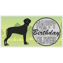 Personalized Great Dane Party Banner - ₨1,652.88 INR
