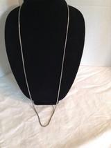 Alfani Hematite Tone Serpentine long necklace  #1444 - $6.79
