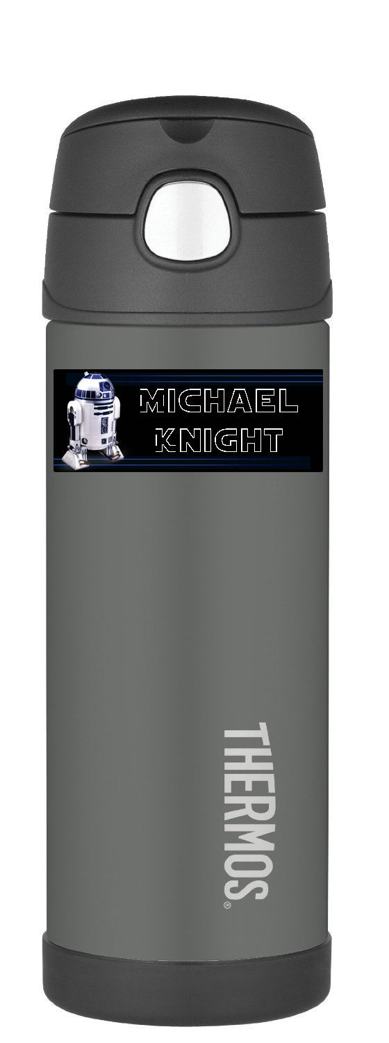 R2D2 Stickers - Personalized R2D2 Stickers - Waterproof (10 per order)