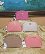 MICHAEL KORS FULTON RAVEL POUCH JET SET COSMETICS CASE:NWT VARIOUS COLOR - $35.58