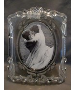 "Mikasa Etched Princess 5"" x 7"" PHOTO / PICTURE FRAME Glass, Made in Germany - $10.99"