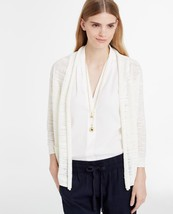 Ann Taylor Women's Off White Linen Blend Open Cardigan, size XL, New wit... - $20.00