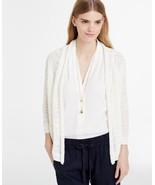 Ann Taylor Women's Off White Linen Blend Open Cardigan, size XL, New wit... - $20.00