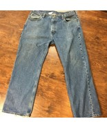 CARHARTT MEN'S 40X33 LOOSE STRAIGHT JEANS COTTON DISTRESSED - $10.50