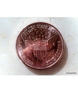 1921 LIBERTY HEAD COPPER COIN  (1 OUNCE .999 FINE COPPER ) - $6.50