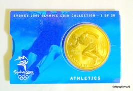 Sydney 2000 Olympic Coin Collection Athletics - $9.00