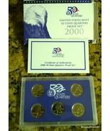 2000 50 State Quarters Proof Set US Mint S - $12.99