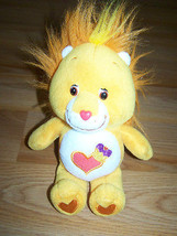 "9"" Brave Heart Lion Care Bear Cousin Bean Bag Plush Toy 2003 Stuffed Ani... - $15.00"