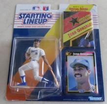 1992 Staring Lineup Juan Gonzalez Texas Rangers Action figure, male - $15.00