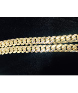 "11.05mm 14K YELLOW GOLD SOLID 32"" HEAVY MIAMI CUBAN LINK MENS CHAIN  257... - $10,047.63"