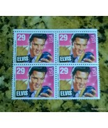 Elvis PRESLEY 29 Cents USA Stamps 4 Corner - $10.00