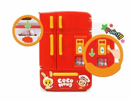 Zeus Toys Coco Mong Melody Light Chef Refrigerator with Drinks Kitchen Roleplay image 2