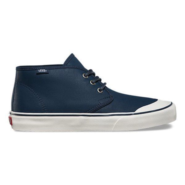 VANS Prairie Chukka (PVW) Waxed Navy Boots Skate Shoes Men's 7 Women's 8.5