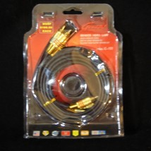 NEW Audio Cable 24 Carat Gold Plated Genesis Media Labs - $7.90