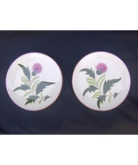 Stangl Thistle Bread Butter Plates Lot of 2 Vin... - $18.99