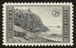 1934 7c Acadia National Park Scott 746 Mint F/VF NH - $1.79