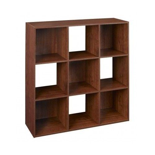 Storage organizer home school 9 cube bookcase shoes closet shelf box stackable closet organizers - Shoe box storage shelves ...