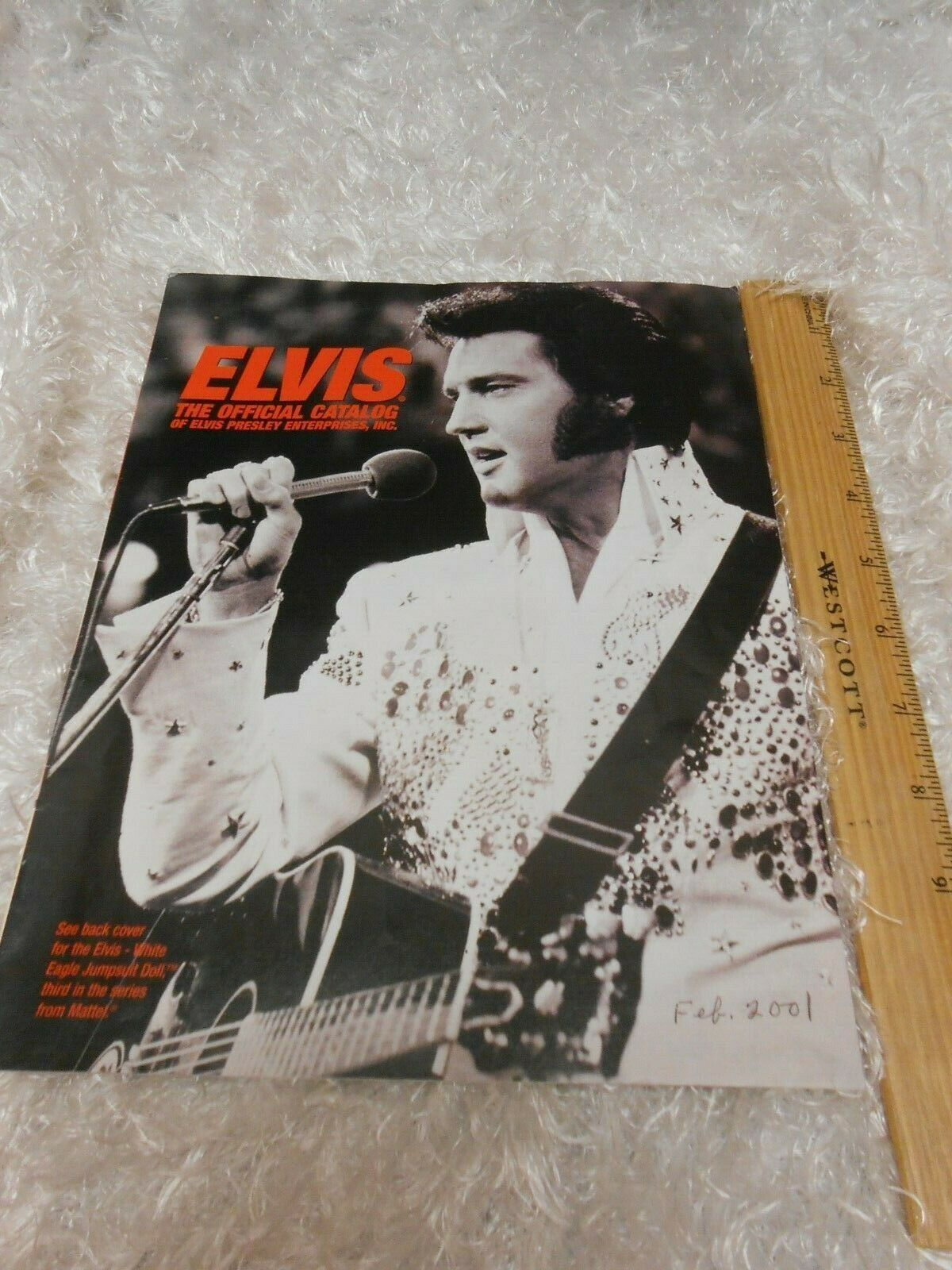 Primary image for Elvis Presley February 2001 official Catalog Booklet magazine
