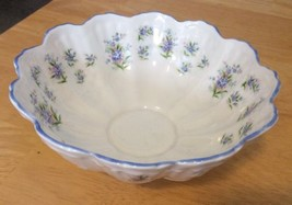 Queen's Fine Bone China Bowl Blue Flowers - $11.74