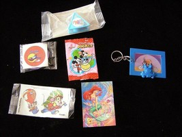 Disney Cereal Premiums + More Little Mermaid Gummi Bears Rescuers Goofy ... - $18.99