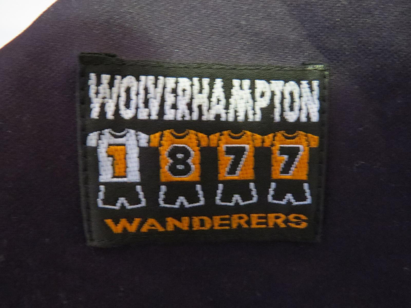 Wolverhampton Home Jersey  (1996-1998) - Amazing Background Print - Men's Medium