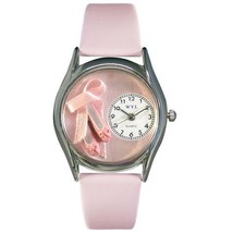 Ballet Shoes Watch Small Silver Style - $41.50
