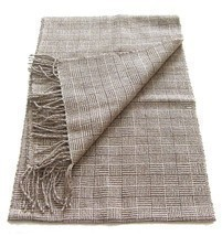 Alpakaandmore 100% Baby Alpaca Wool Woven Scarf, 63x12 Inch Without Frin... - $75.24