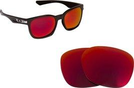 New SEEK OPTICS Replacement Lenses Oakley GARAGE ROCK - Polarized Red - $17.35