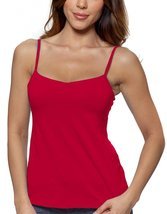Alessandra B Underwire Bra Classic Camisole (40B, Red) - $24.99