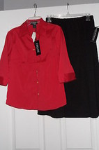 NOTATIONS SKIRT SIZE S & LOU LOU SHIRT SIZE S NWT - $27.99