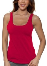 Alessandra B Underwire Sports Bra Tank Top (34B, Red) - $29.99