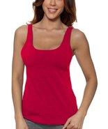 Alessandra B Underwire Sports Bra Tank Top (34DD, Red) - $29.99