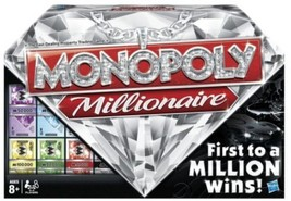 Monopoly Millionaire The Fast-Dealing Property Trading Board Game - $52.47