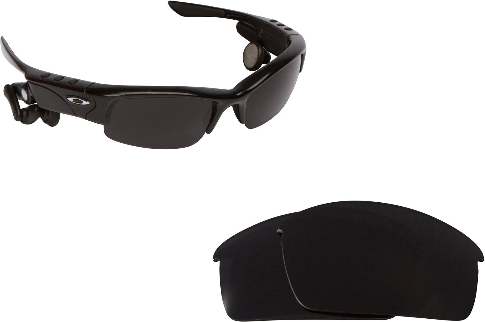 Primary image for New SEEK OPTICS Replacement Lenses Oakley THUMP PRO - Polarized Black